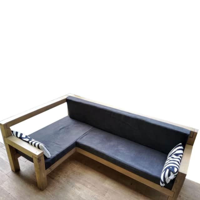 divano legno per esterno