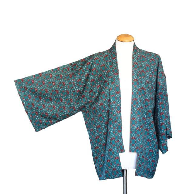 Kimono jersey stampato