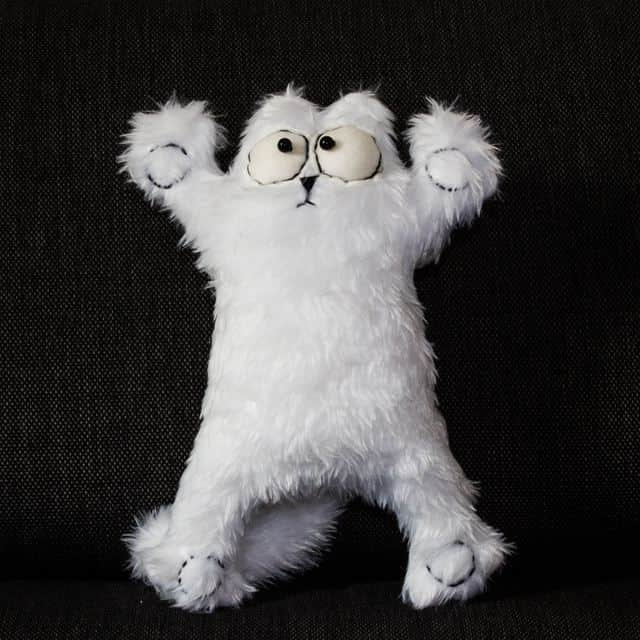 Simon's cat Peluche